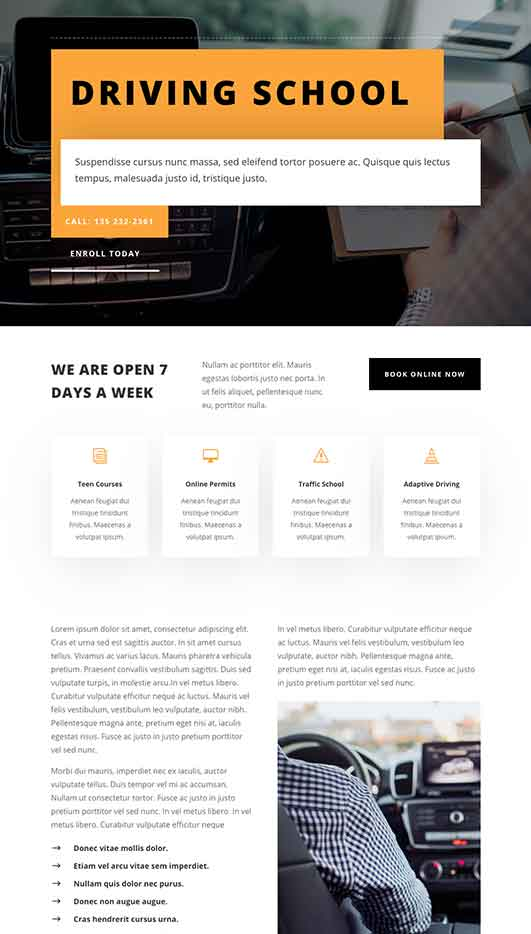 New-Orleans-Demo-Site Web Design & Development