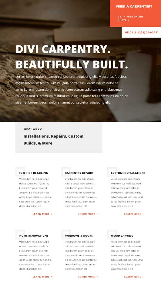 Wilmington-Demo-Site Web Design & Development