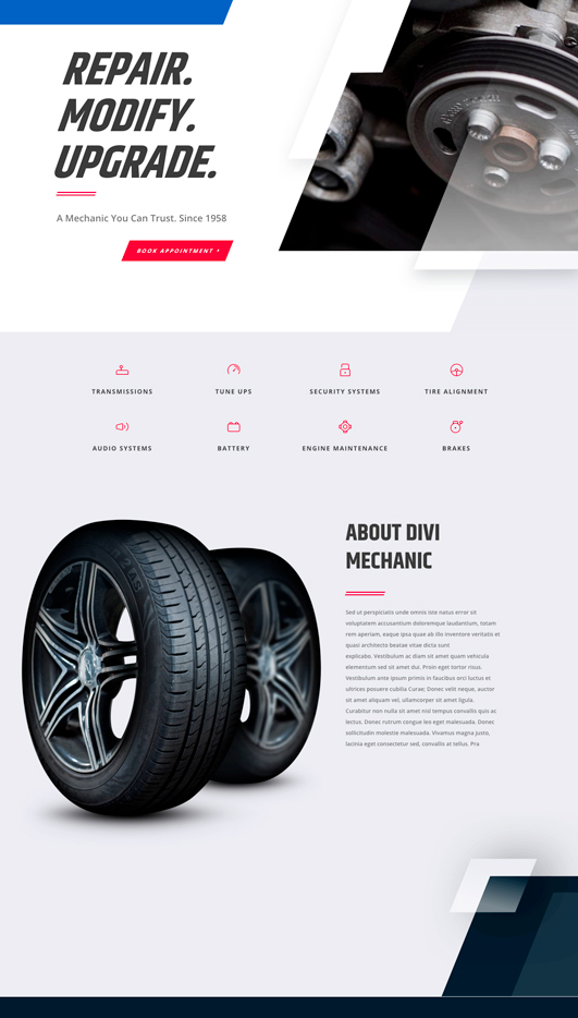 mechanic Web Design & Development
