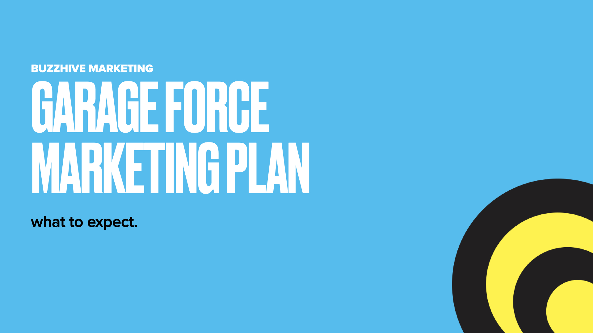 Buzzhive-Marketing-Approach.001-1 Garage Force Marketing